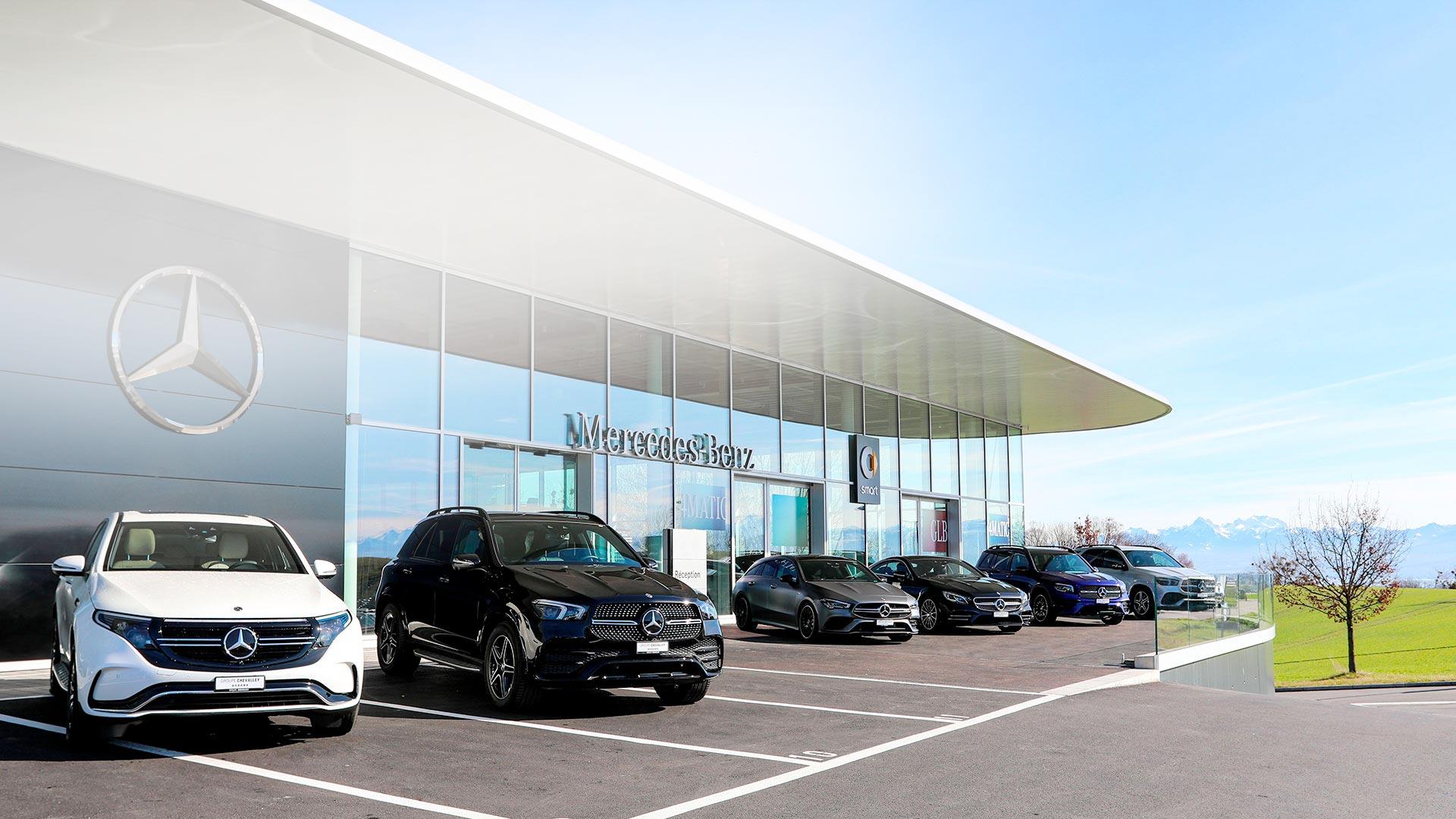 Garage de Nyon Mercedes-Benz AMG et smart Groupe Chevalley