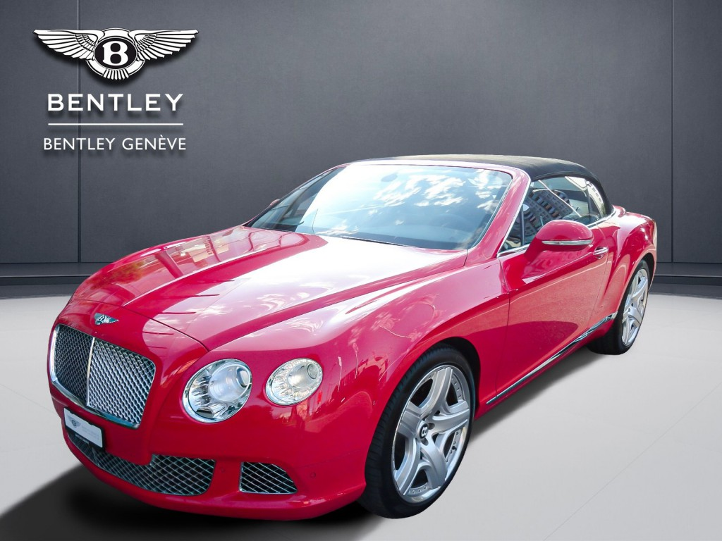 BENTLEY Continental GTC 6.0 W12