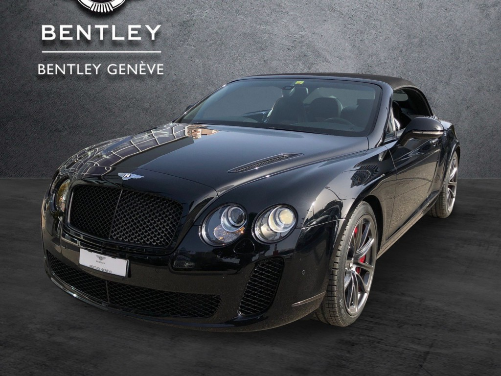 BENTLEY Continental Supersports ISR Convertible 6.0