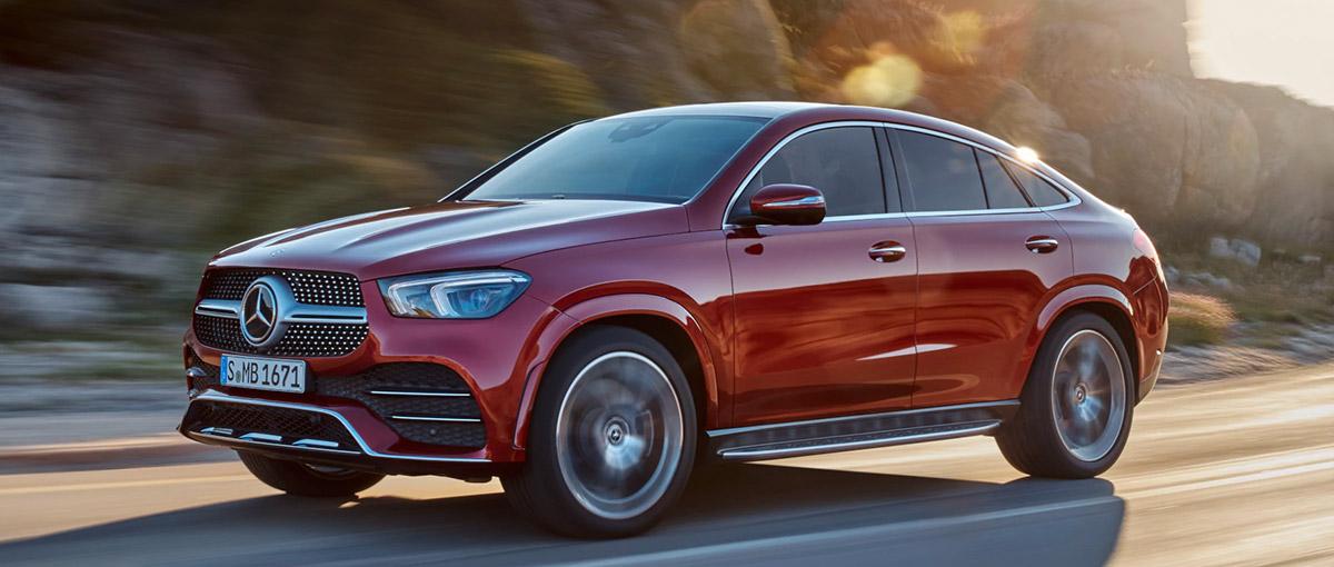 Mercedes GLE Coupé – Remarquablement dynamique.