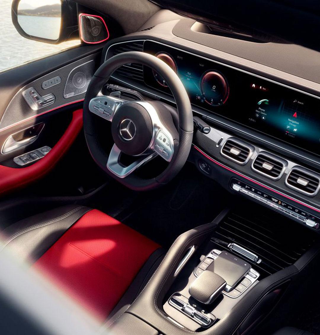 Mercedes GLE Coupé - Remarquablement dynamique.