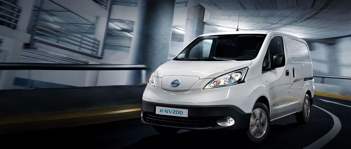 L'utilitaire électrique, Nissan e-NV200
