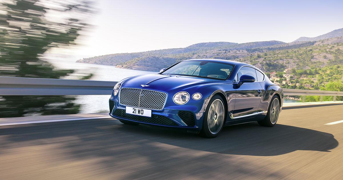 Bentley Continental GT W12 : Synonyme de vitesse et prestance