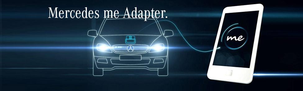 Mercedes me Adapter – Restez connectés avec votre véhicule
