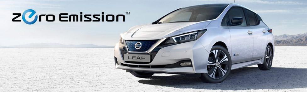 Nissan Leaf 100% électrique