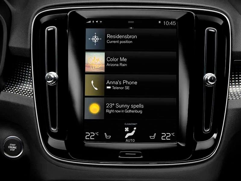 Volvo XC40. Le petit SUV bourré d'innovations.