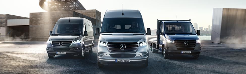 Mercedes-Benz Vans: le Sprinter
