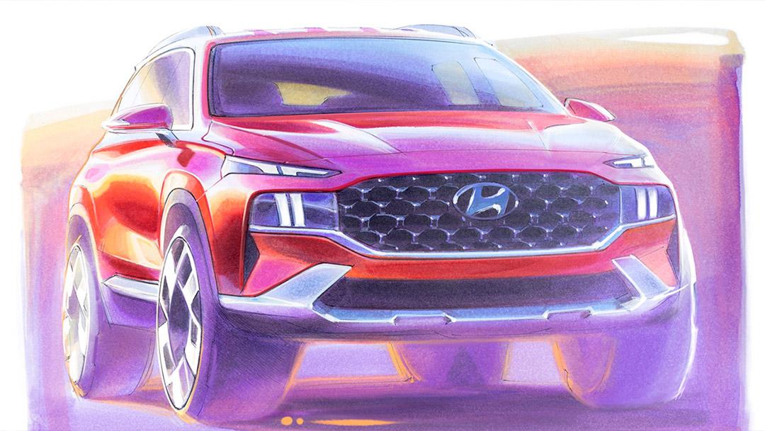 Le Hyundai Santa Fe