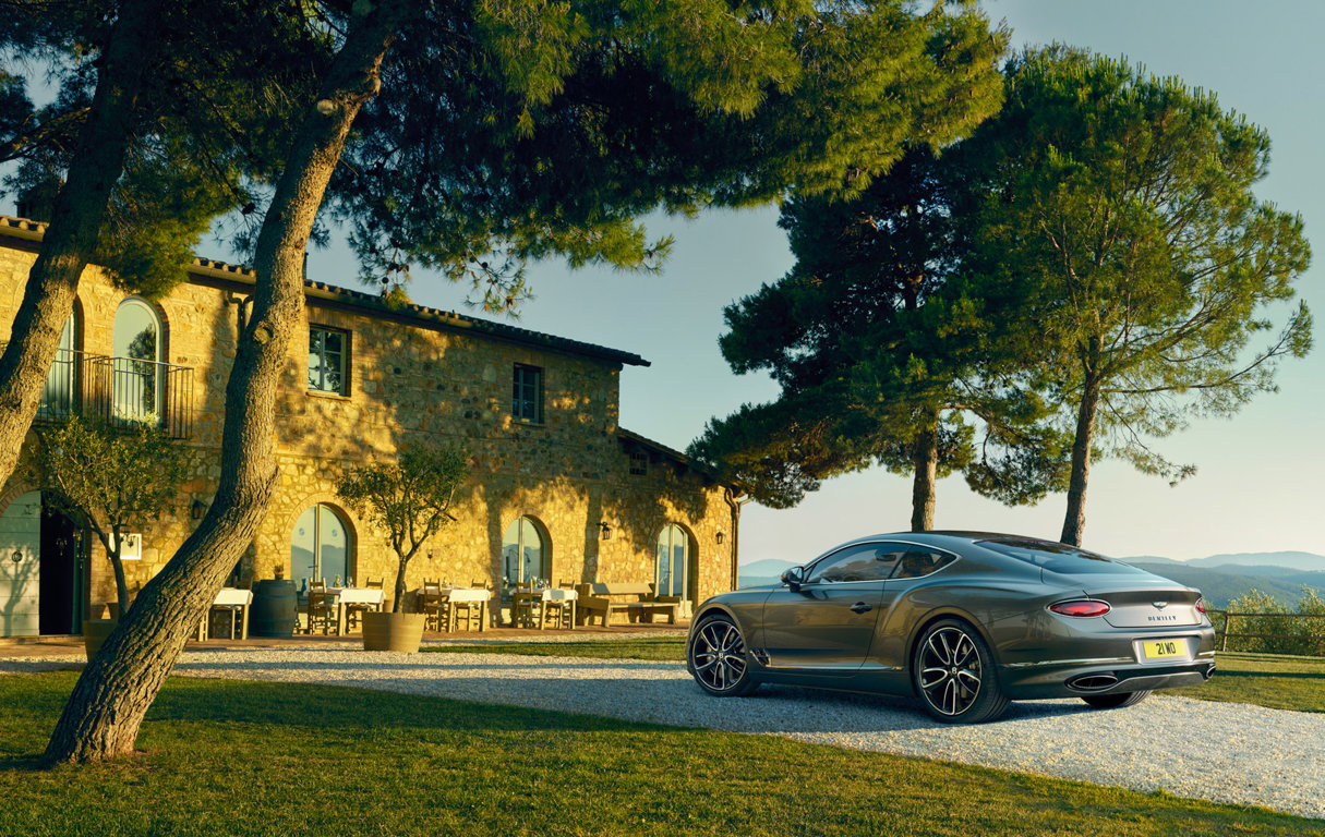 La nouvelle Bentley Continental GT genève