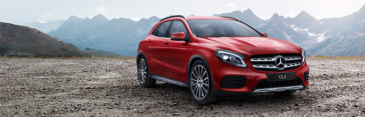 Nos modèles spéciaux Mercedes 4MATIC «Swiss Star»