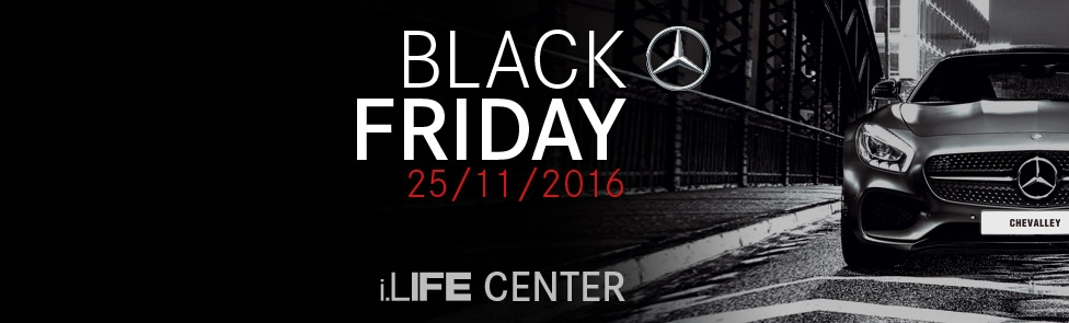 Black Friday 2016 - Mercedes AMG