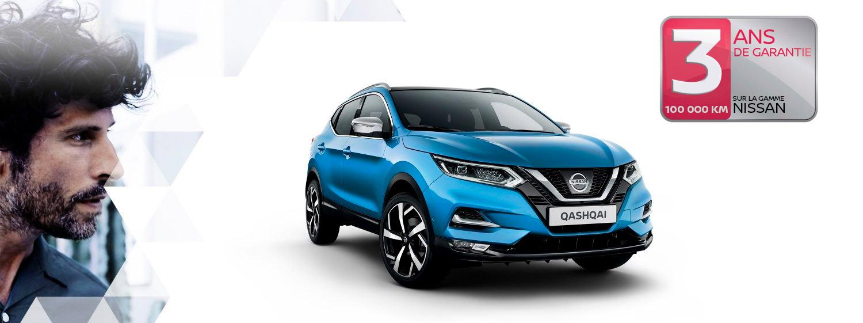 Conditions spéciales sur nos crossovers Nissan neufs de stock