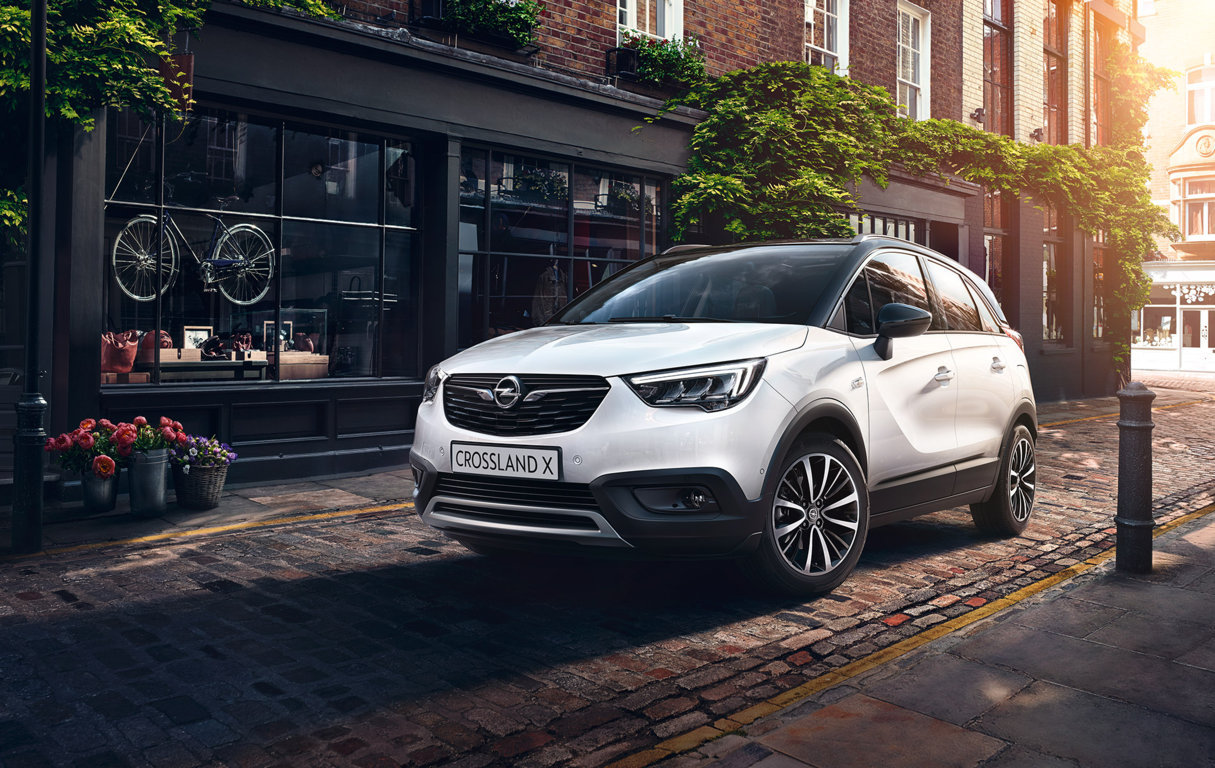 Nouvelle opel crossland X suv