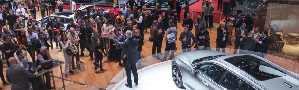 Soirée de présentation du nouveau Volvo V60 au Salon de l'Auto de Genève