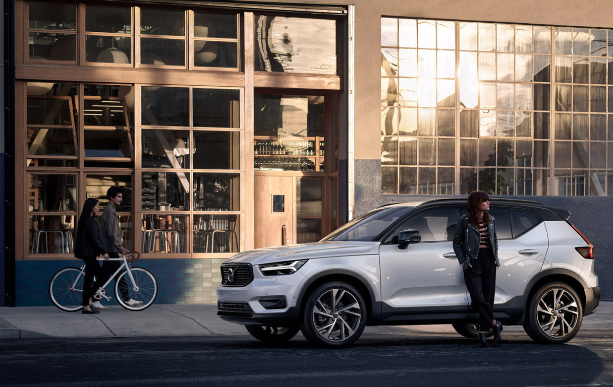 volvo xc40 SUV compact Groupe Chevalley