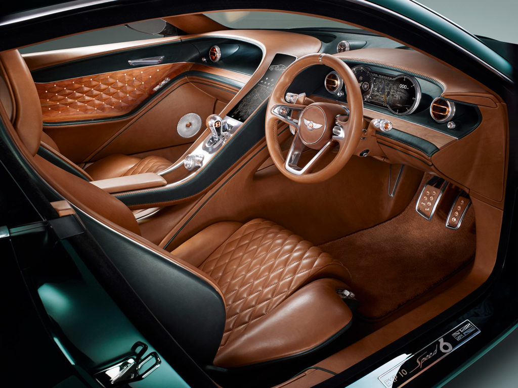 Bentley EXP 10 SPEED 6 au salon de Genève 2015