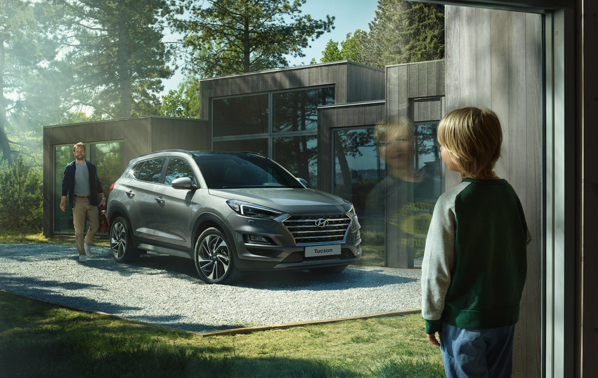 Hyundai Tucson suv crossover