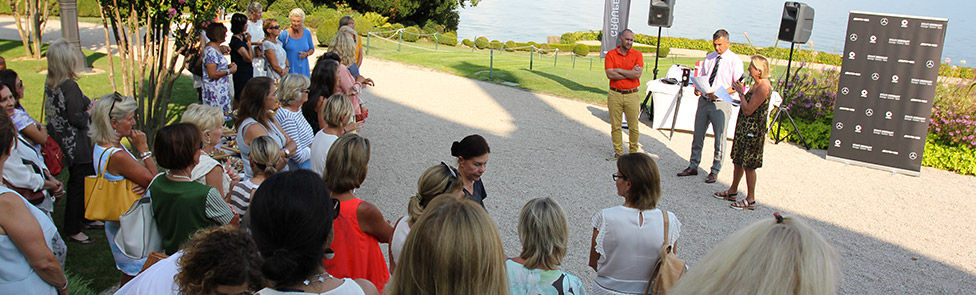 Compétition féminine de Golf au Domaine Impérial de Gland