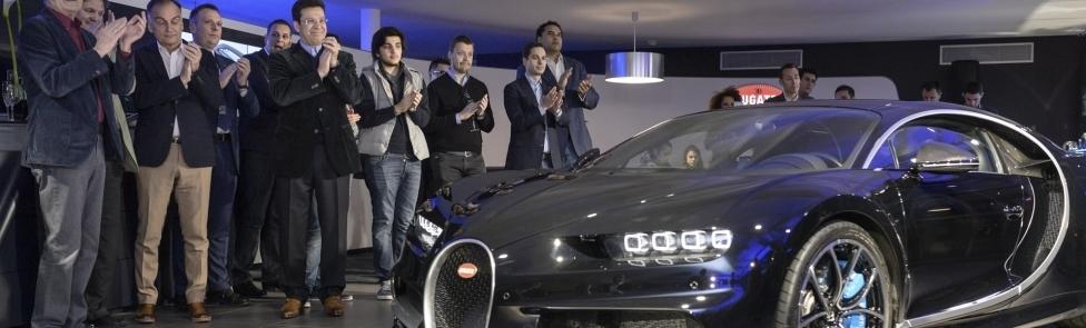 Inauguration de notre nouveau showroom Bugatti Genève