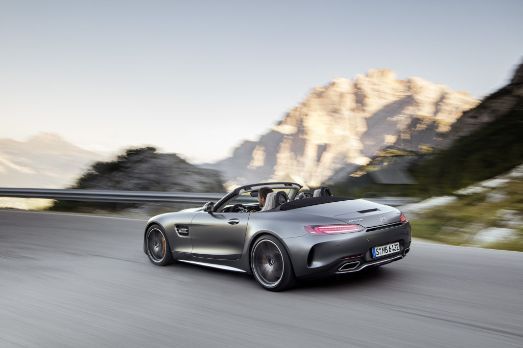 Les nouveaux Mercedes-AMG GT & GT C Roadster