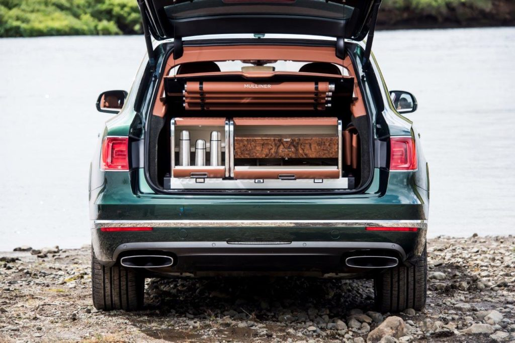Bentley Bentayga Fly Fishing par Mulliner