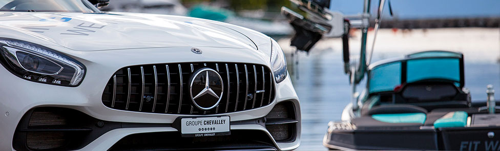 Mercedes-AMG GT C Roadster Vs MasterCraft XSTAR