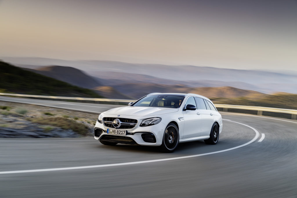 Les breaks Mercedes-AMG E 63 4MATIC+ et E 63 S 4MATIC+