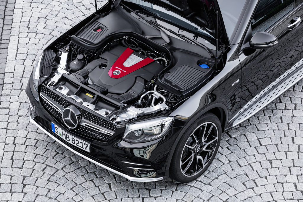 Le nouveau Mercedes-AMG GLC 43 4MATIC Coupé