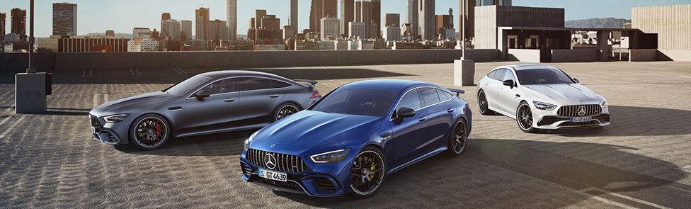 Life is race. Mercedes-AMG GT Coupé 4 portes