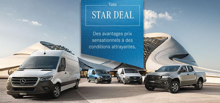 Avantages Mercedes STAR DEAL sur Sprinter, Vito, Citan & Classe X