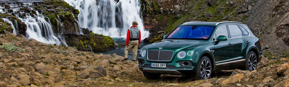 Bentley Bentayga Fly Fishing par Mulliner