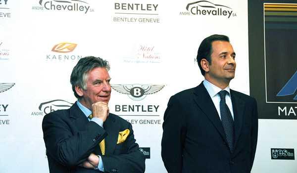 Soirée Bentley Genève Match Race – Edition 2009