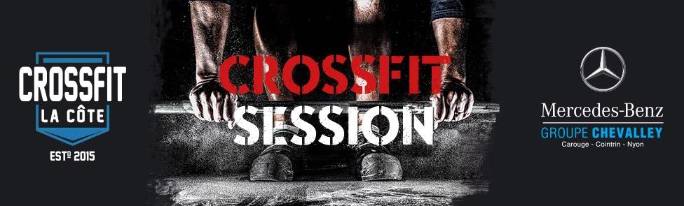 CrossFit session au Garage de Nyon Mercedes