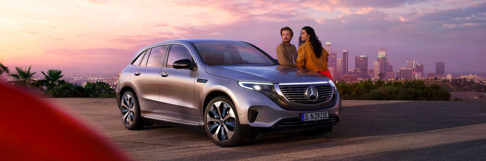 EQC - Le SUV électrique signé Mercedes-Benz