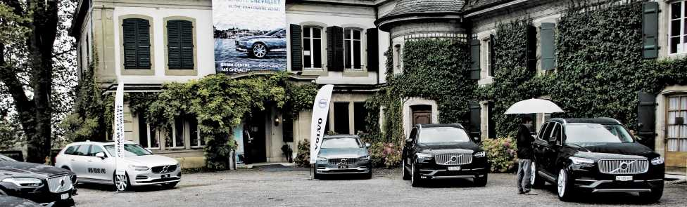 Brunch Test Drive Volvo S90 & V90 au Château de Penthes