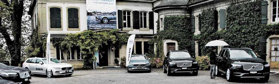 Brunch Test Drive Volvo S90 & V90 au Château de Penthes