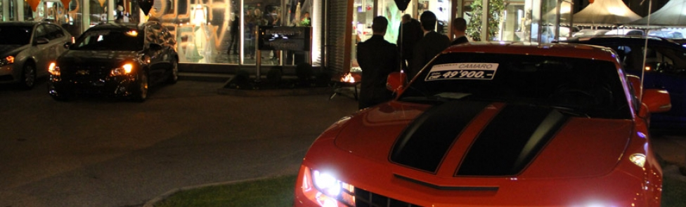 Inauguration de Chevrolet Chez Autos Carouge