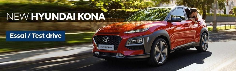 Testez la Hyundai Kona