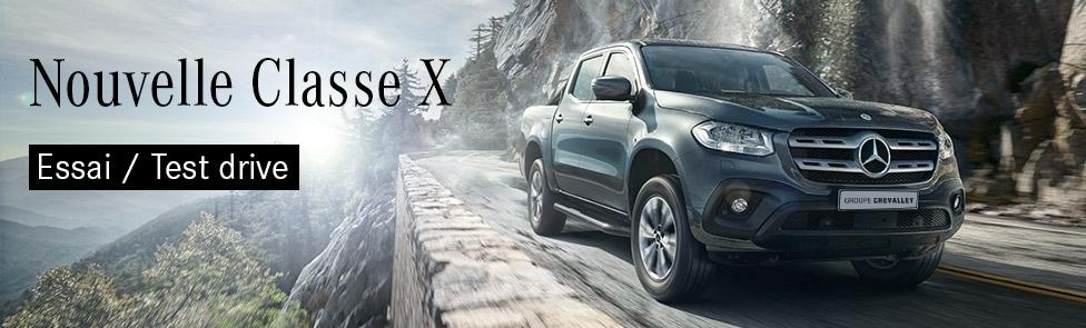Réservez votre essai Mercedes Classe X