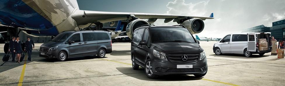 Le nouveau Mercedes Vito répond à tous les besoins