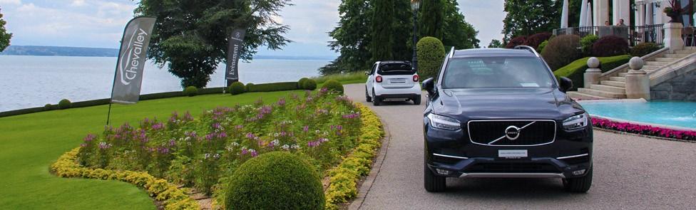 Volvo Nyon partenaire du Golf Club du Domaine Impérial
