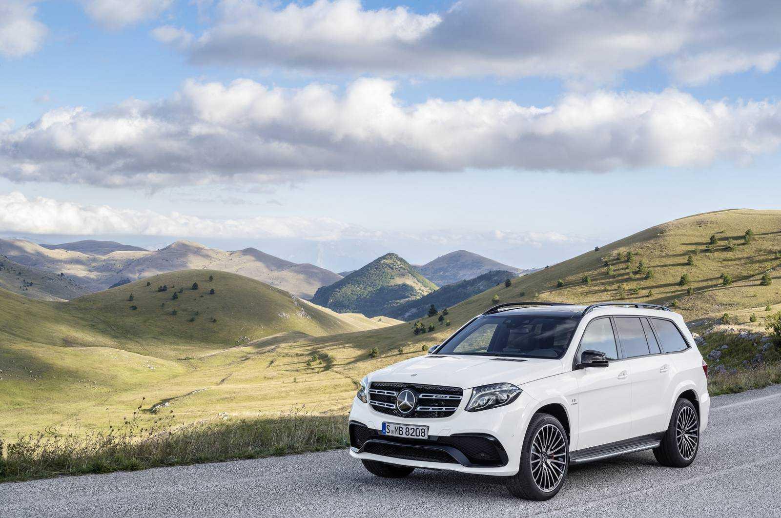 Mercedes GLS et GLS 63 AMG