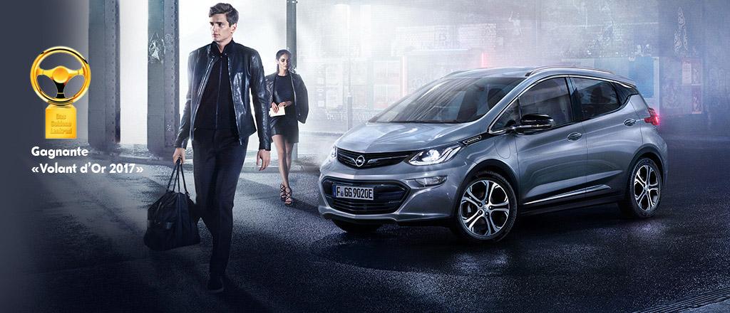 Trois médailles d'or pour les nouveautés Opel