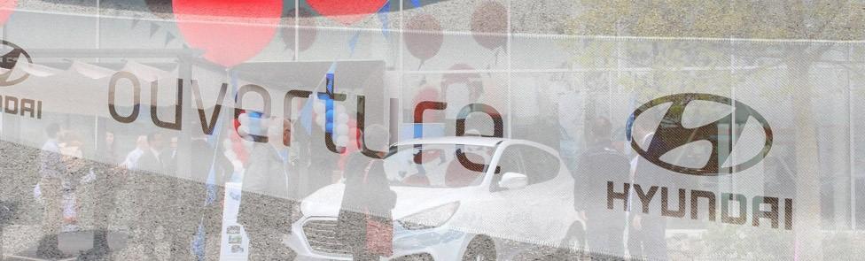 Soirée d'inauguration Hyundai Nyon