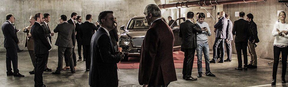 Soirée de présentation du Bentley Bentayga