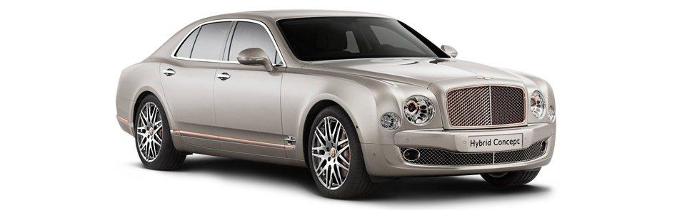 Le concept Bentley Mulsanne Hybrid 2014