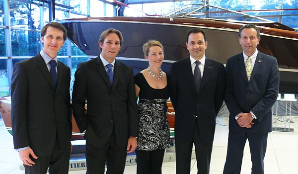 Soirée Bentley & Riva au Garage de l'Athénée 2008