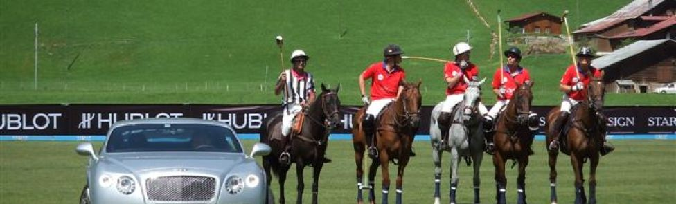 Bentley sponsor du Hublot Polo Gold Cup de Gstaad