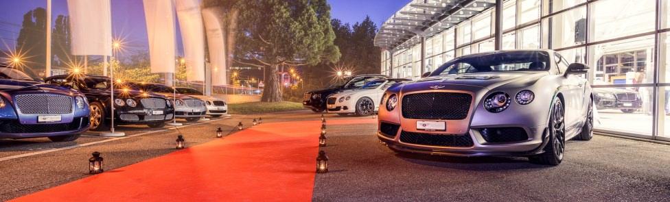 Revivez en images la soirée d'inauguration de notre nouveau showroom Bentley