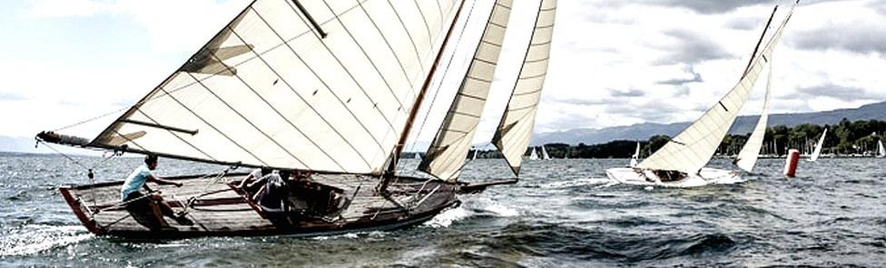 Sortie Volvo à bord de la barque Vaudoise